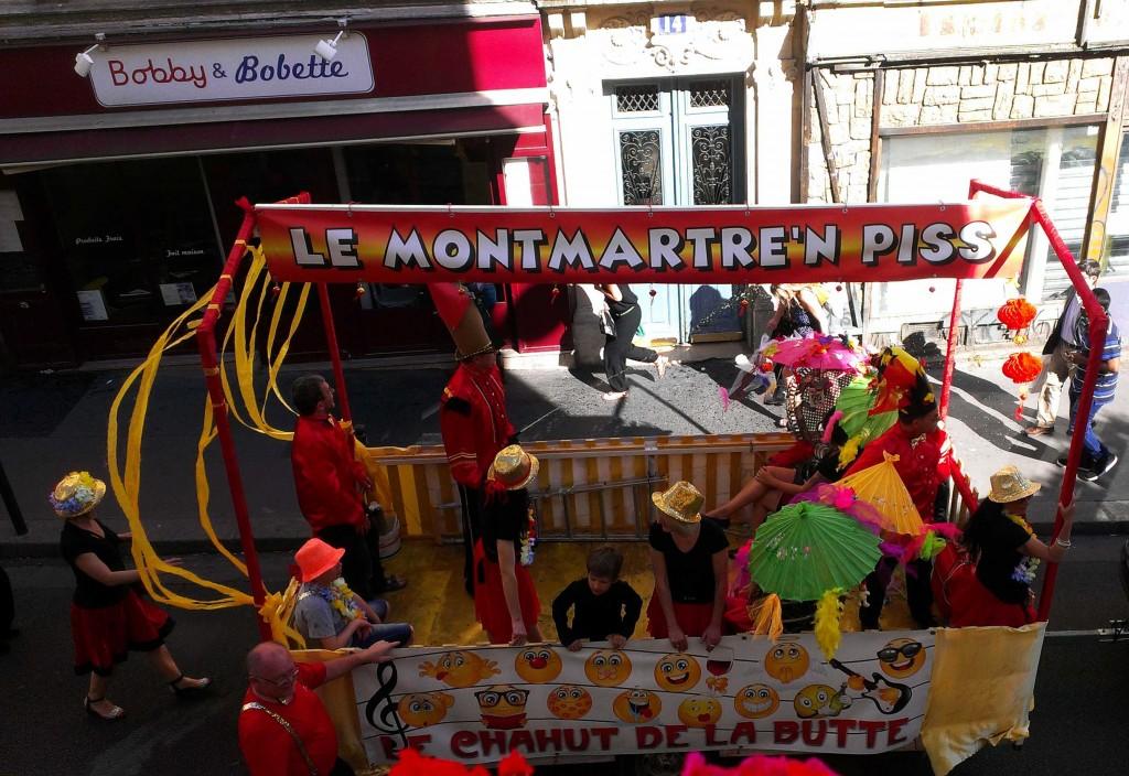 Carnival, Montmartre Paris