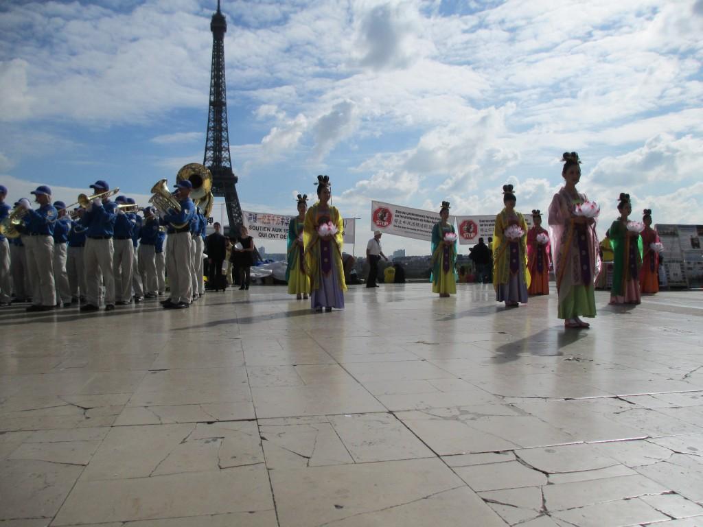 Human Rights Esplanade, Paris