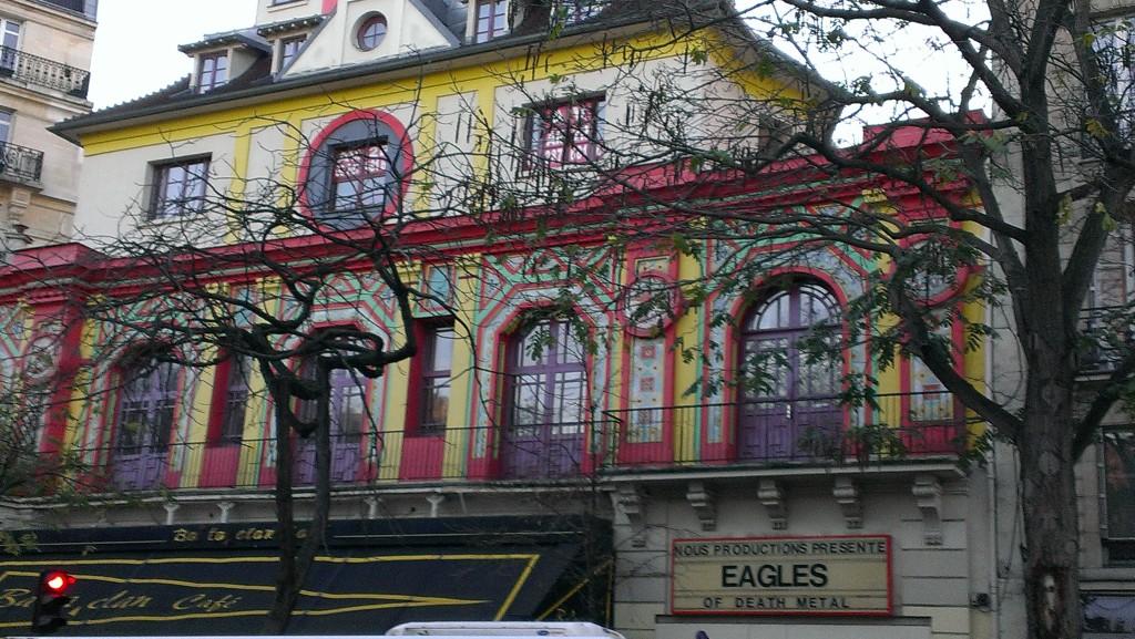 Bataclan Theatre, Nov26, 15, Paris