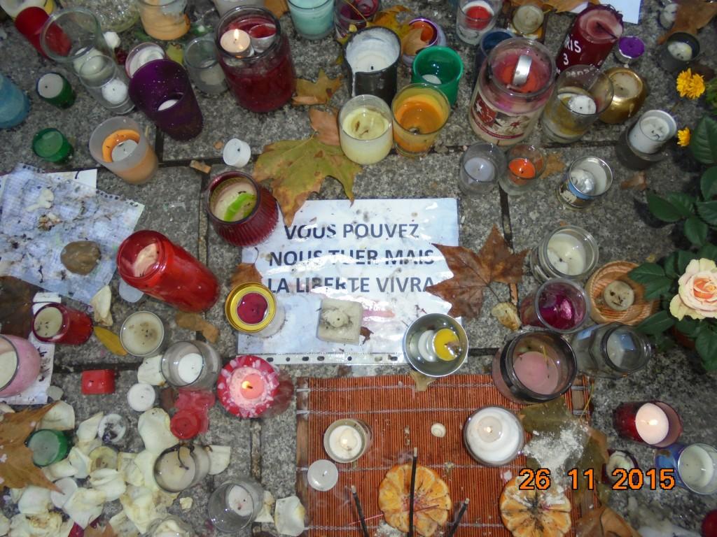 Light for LIberty, Bataclan, Paris