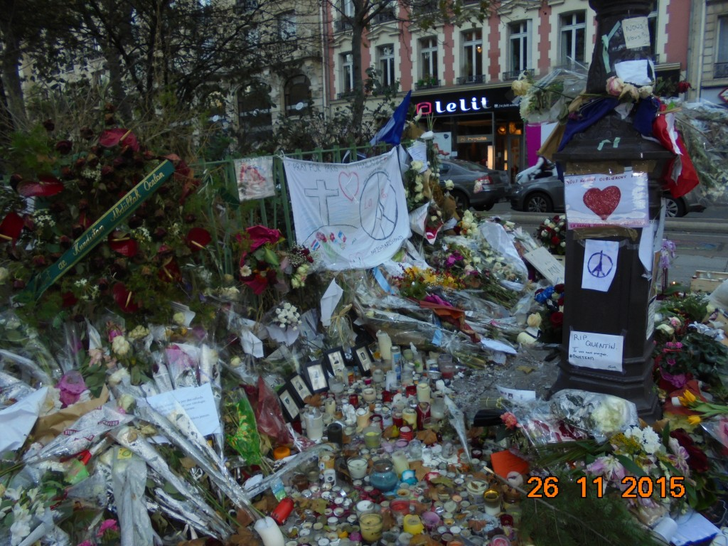 Peace, Bataclan, Paris