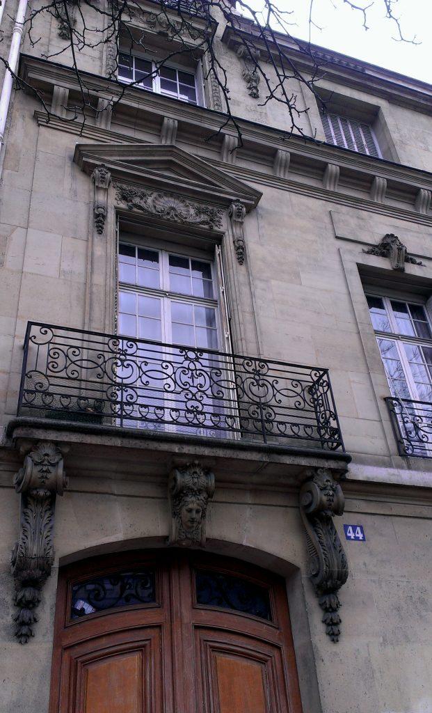 Architecure, 1887, Paris