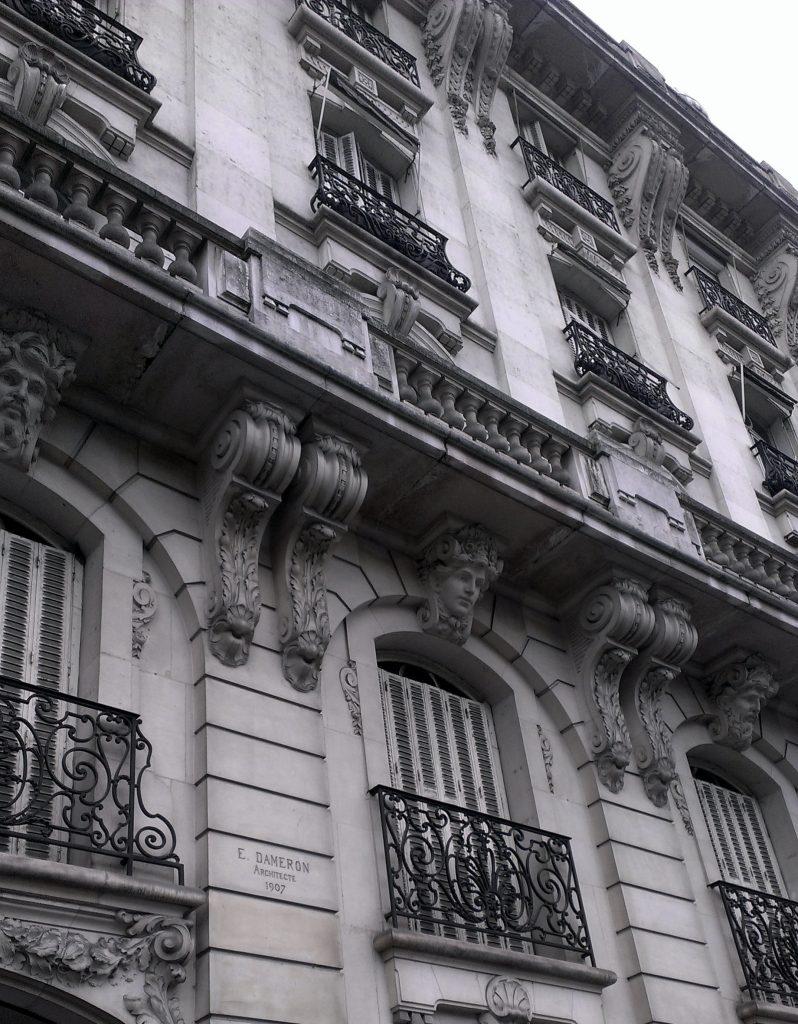 Architecure 1907, Paris