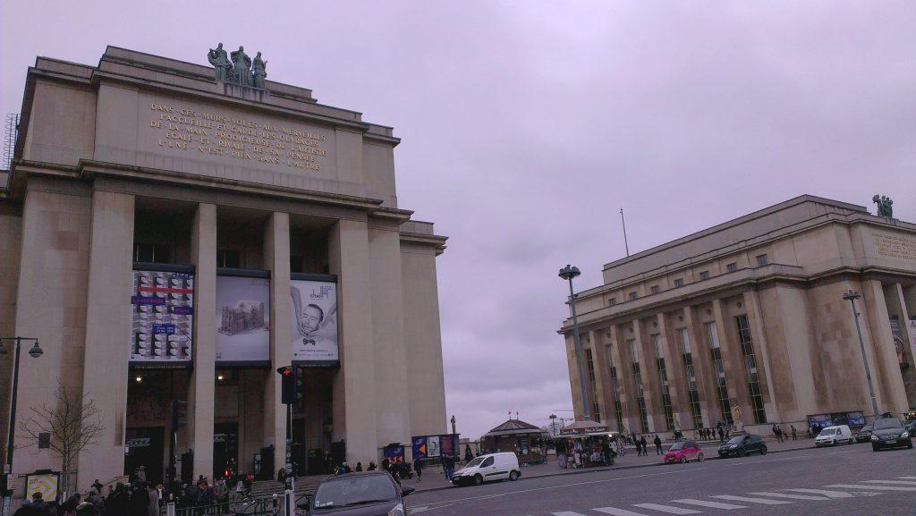 Palais Chaillot, Paris