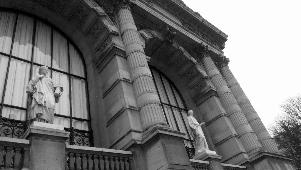 Palais Galliera- Detail south, Paris