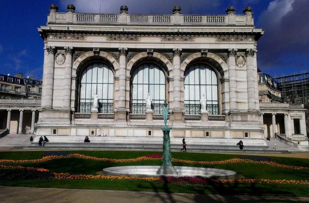 Palais Galliera, south, Paris